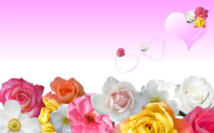 печать на цветах