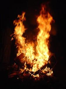 природа огня